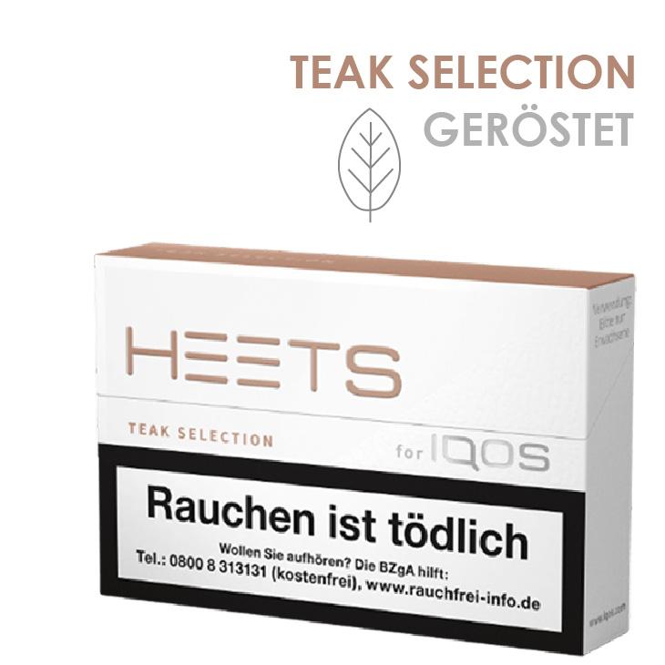 IQOS Heets Teak Selection 10 x 20 Stück