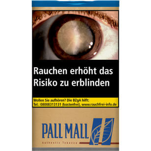 Pall Mall Authentic Blue 60g
