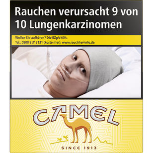 Camel Yellow 10 €