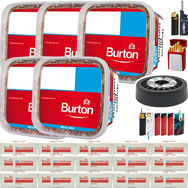 Burton 5 x 350g mit 3000 Hülsen