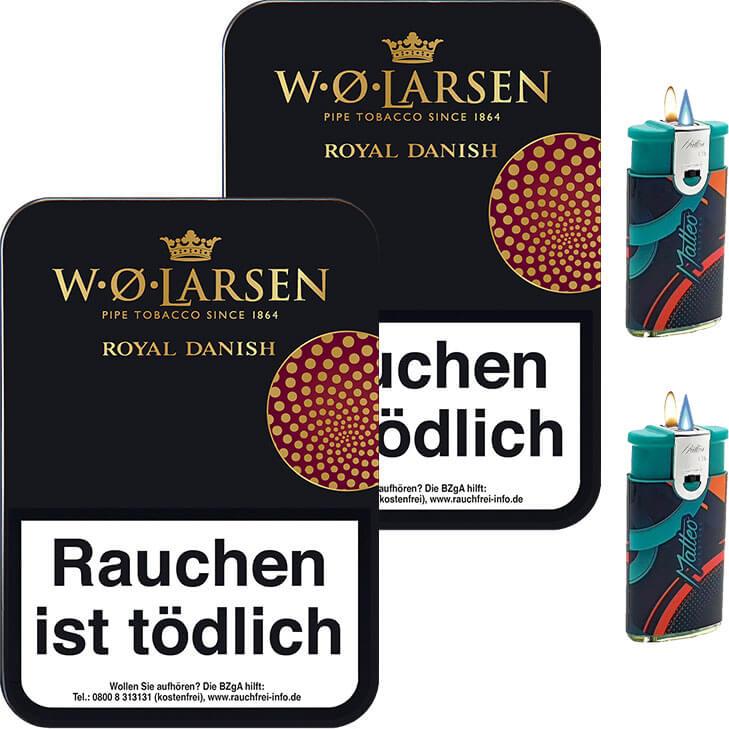 W.O. Larsen Royal Danish 2 x 100g