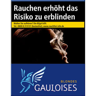 Gauloises Blondes Blau 12 €