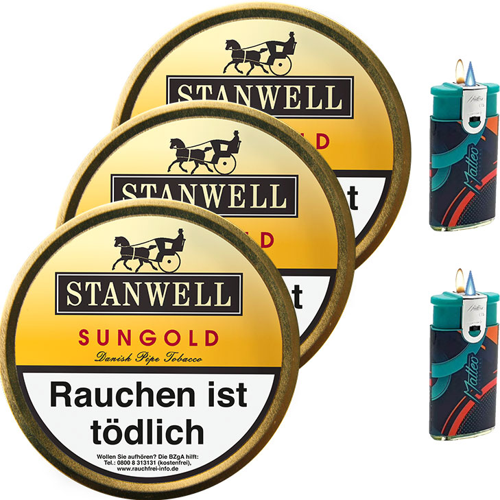 Stanwell Sungold 3 x 50g