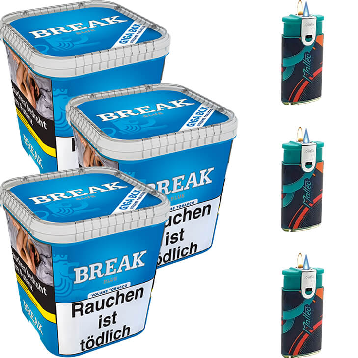 Break Blue / Blau 3 x 240g