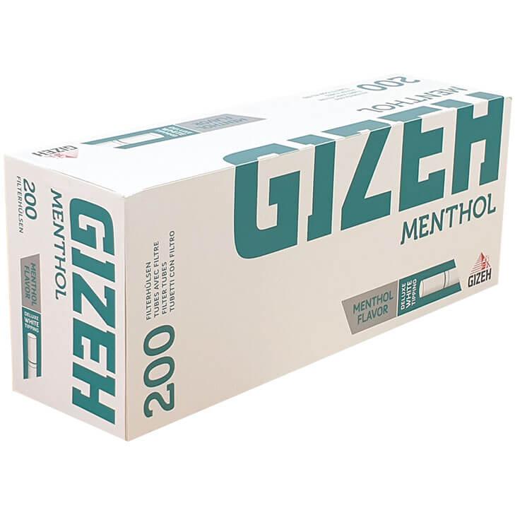 Gizeh Menthol Filterhülsen 200