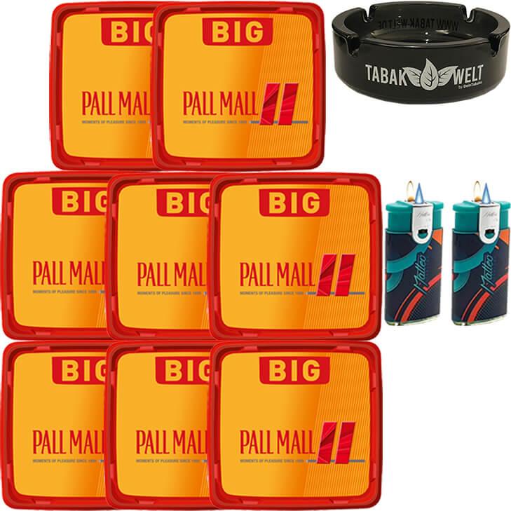 Pall Mall Allround 8 x 120g mit Glasaschenbecher