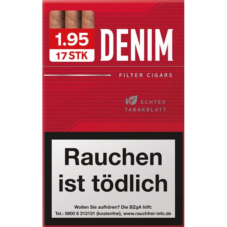 Denim Red Eco L 1,95 €