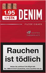 Denim Red Zigarillos mit Filter (6 Stangen) 60 x 17 Stück Uvm.