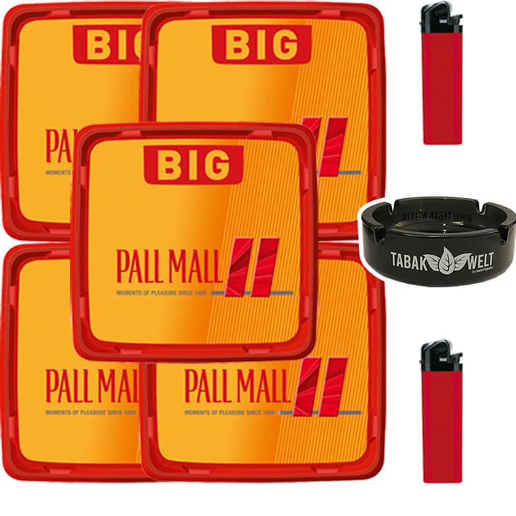 Pall Mall Allround 5 x 120g mit Glasaschenbecher