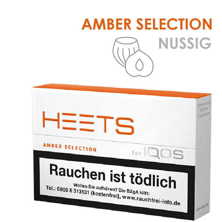 IQOS Heets Amber Selection 10 x 20 Stück