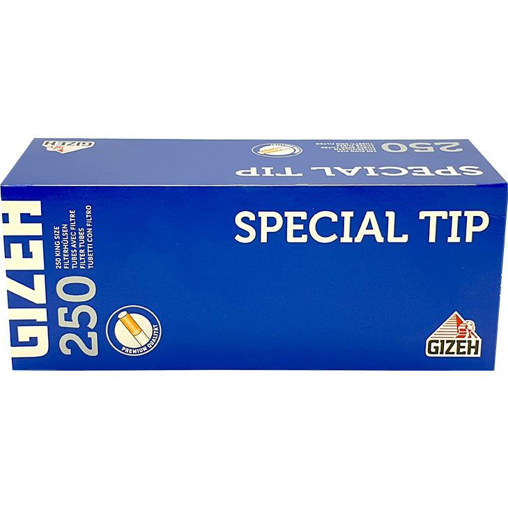 Gizeh Special Tip Filterhülsen 250