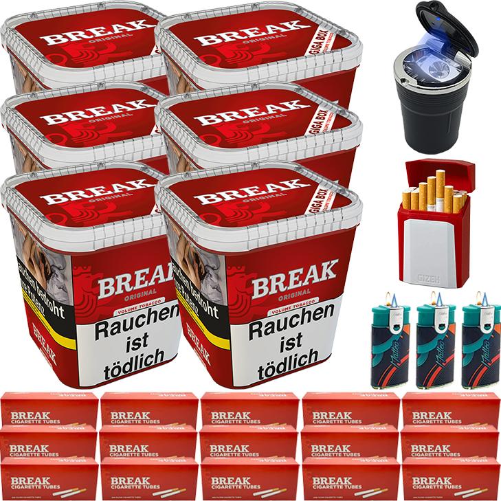 Break Original 6 x 240g mit 3000 Hülsen