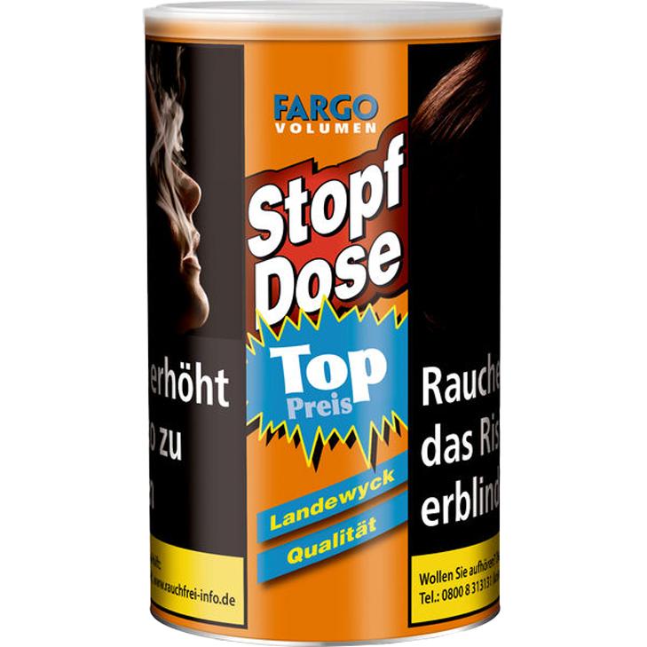 Fargo Stopf-Dose Gelb 100g