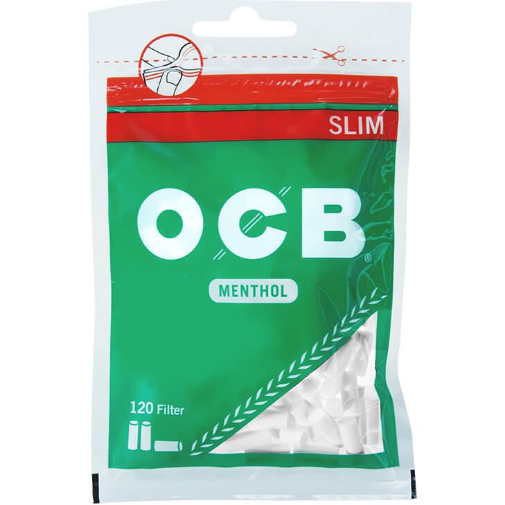 OCB Drehfilter Menthol 6 mm 120 Stück