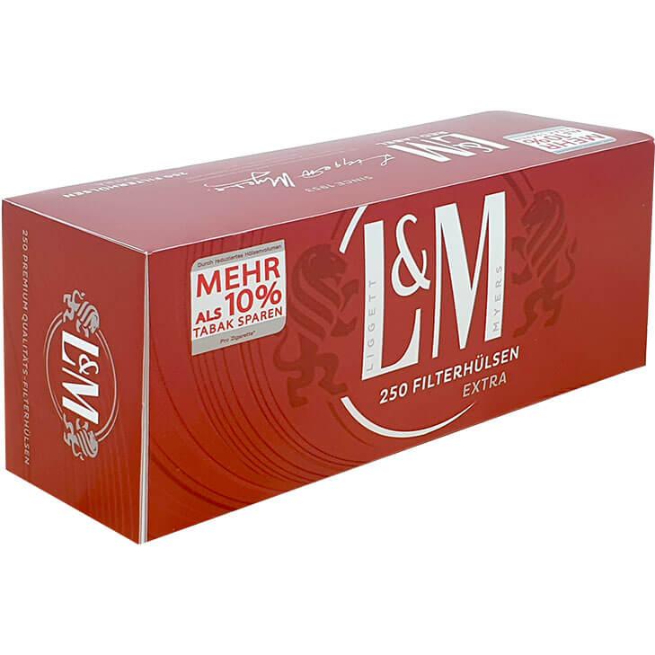 L&M Extra Filterhülsen 250
