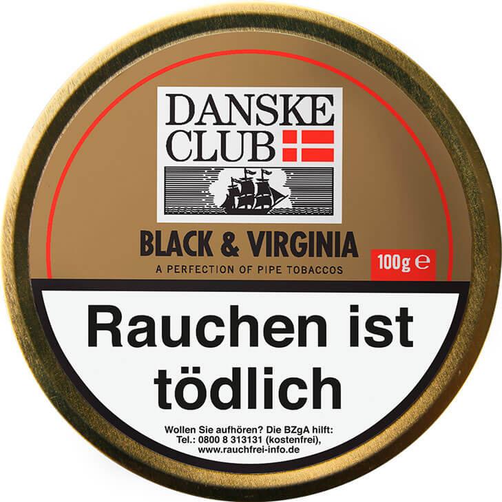 Danske Club Black & Virginia 100g