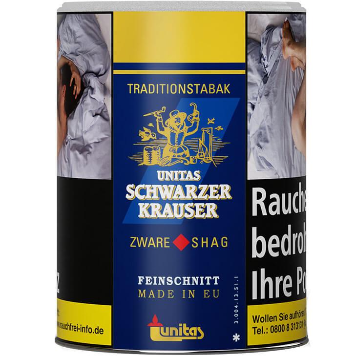 Schwarzer Krauser Unitas 125g