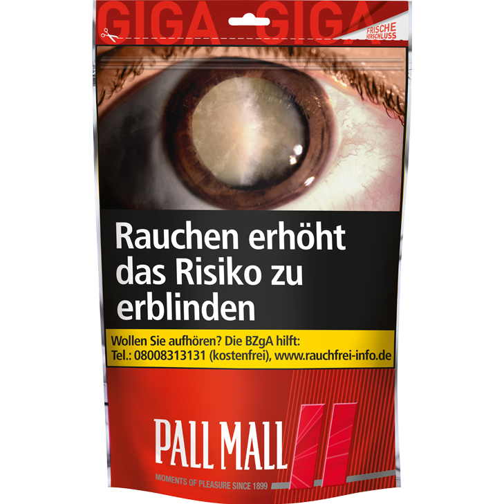 Pall Mall Red 135g