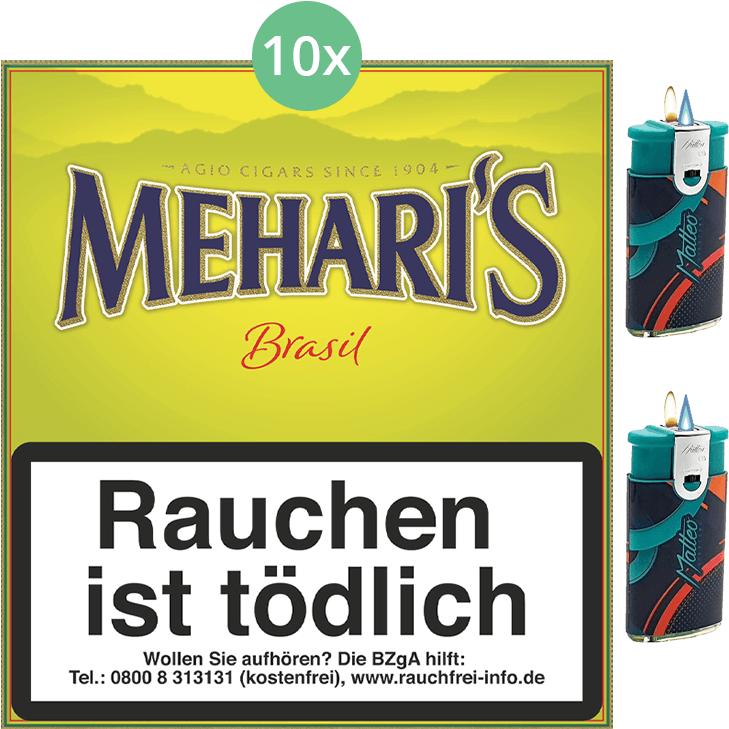 Mehari's Brasil 10 x 20 Stück