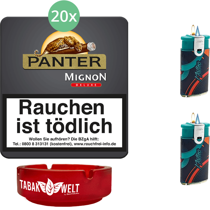 Panter Mignon De Luxe 20 x 20 Stück