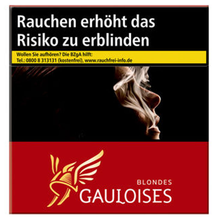 Gauloises Blondes Red / Rot 15 €