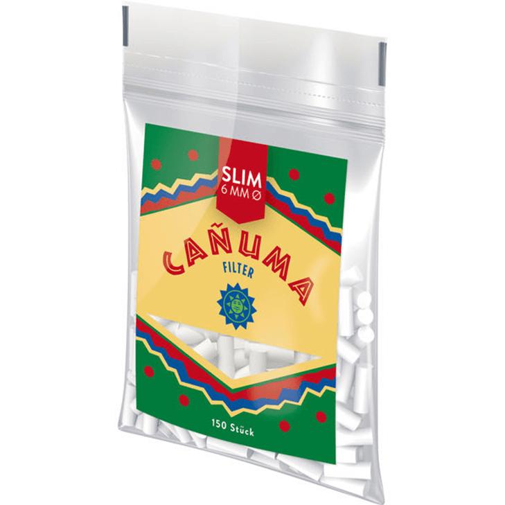 Canuma Filter Tips 6mm 25 x 150 Stück