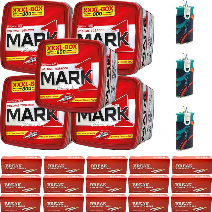 Mark 1 - 5 x 400g mit 3000 Hülsen