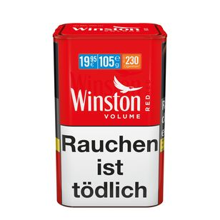 Winston Volume Tobacco Red XL 105g