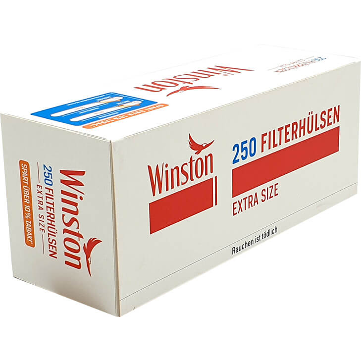 Winston Extra Size Filterhülsen 250