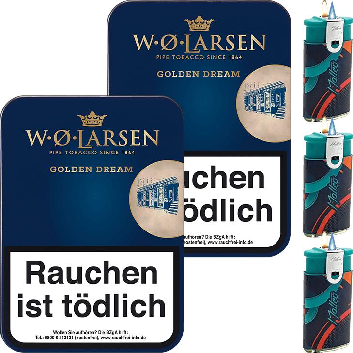 W.O. Larsen Golden Dream 2 x 100g