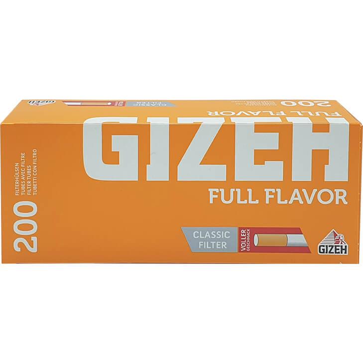 Gizeh Filterhülsen Full Flavor 200 mit Classic Filter
