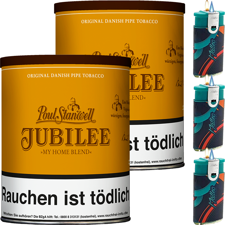 Poul Stanwell Jubilee 2 x 200g