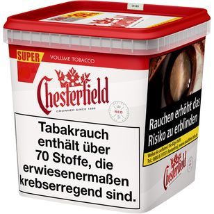 Chesterfield Red Volumentabak Super Box 280g