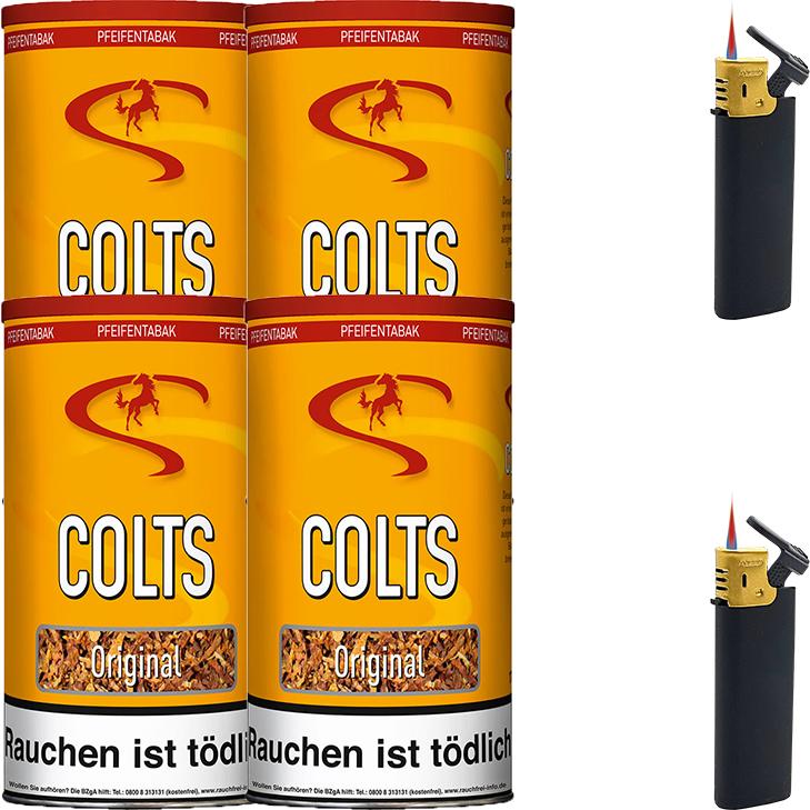 Colts Original 4 x 170g Pfeifentabak