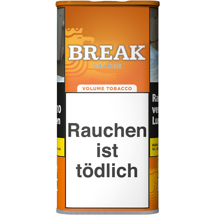 Break Orange Volumentabak 110g