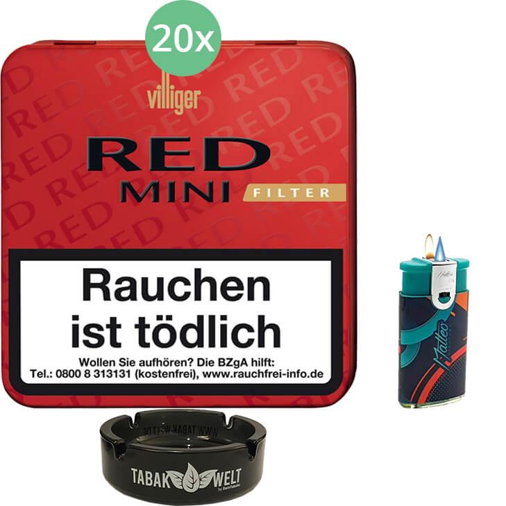 Villiger Red Mini Filter 20 X 20 Stück