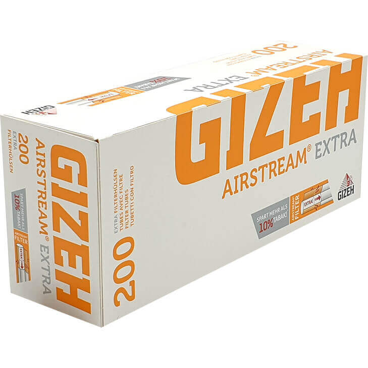 Gizeh Filterhülsen Airstream Extra 200