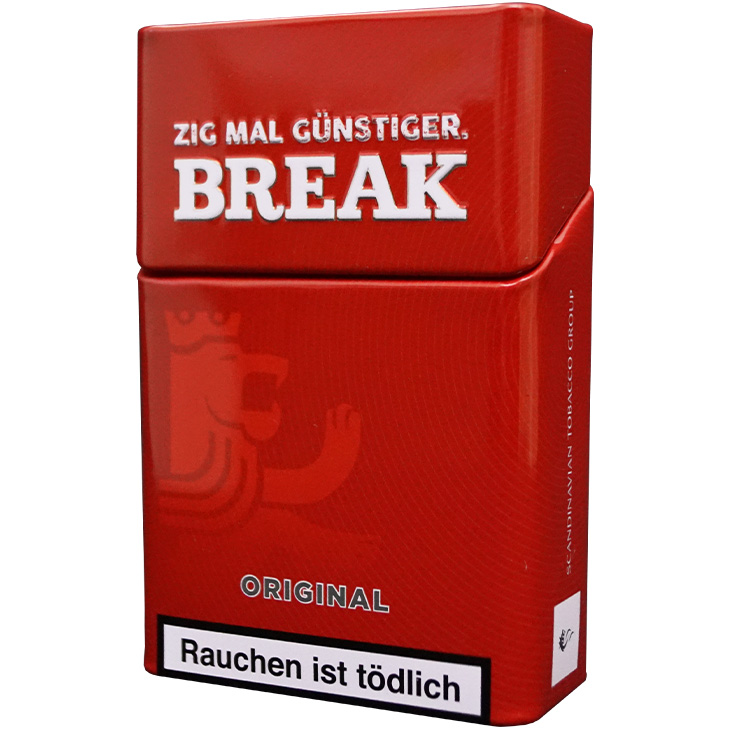 Break Original 4 x 240g Volumentabak 2000 Filterhülsen Uvm.
