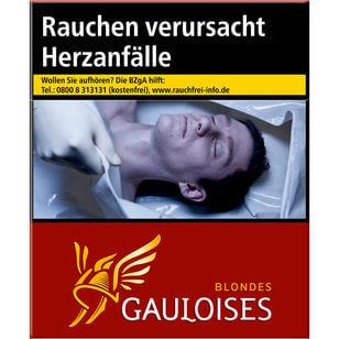 Gauloises Blondes Rot 10 €