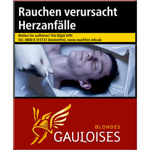 Gauloises Blondes Rot 12 €