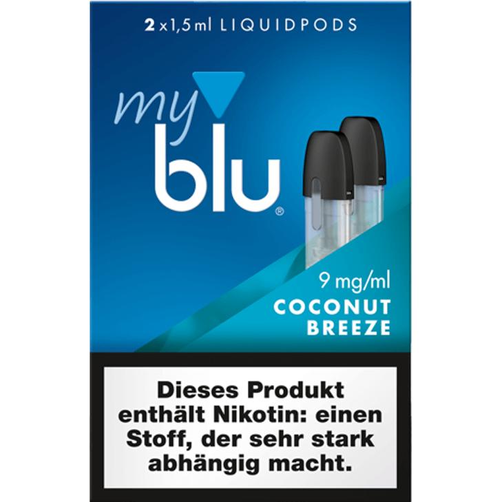 myblu Pod Coconut Breeze 09 mg/ml