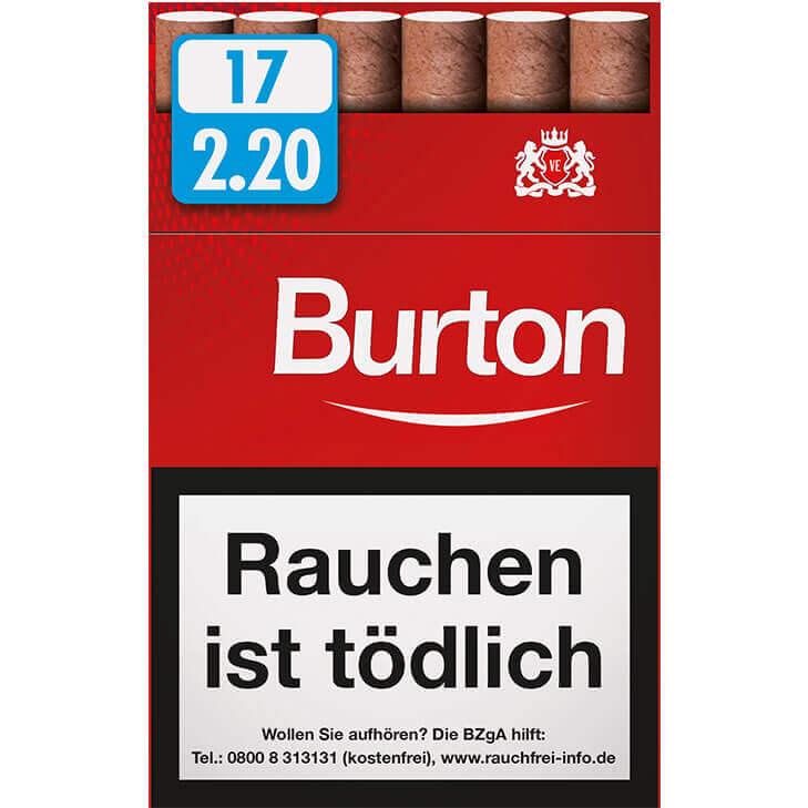 Burton Original Zigarillos 2,20 €