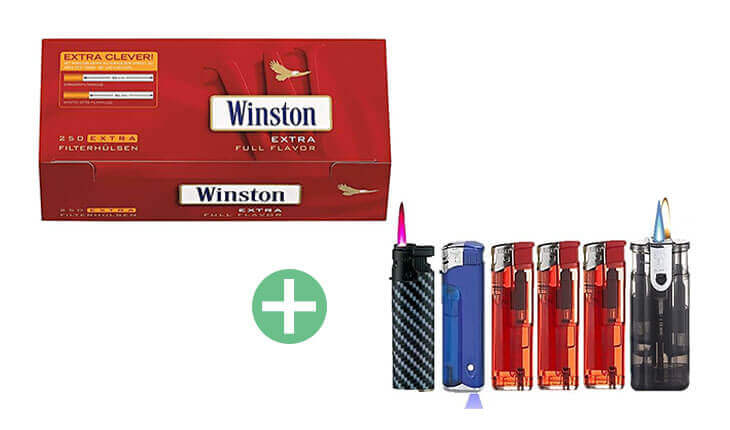 Winston Extra Filterhülsen 20 x 250