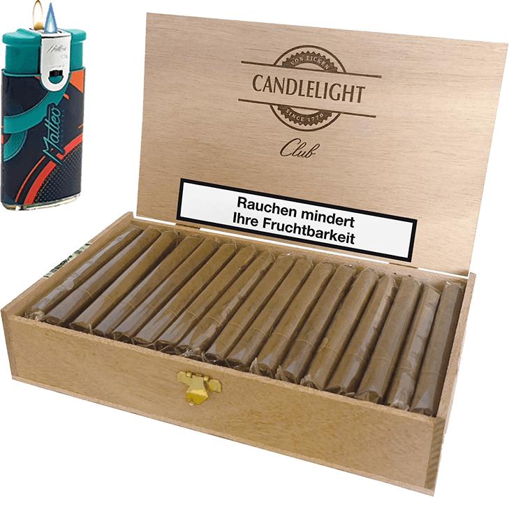 Candlelight Club Brasil 1 x 50 Zigarren