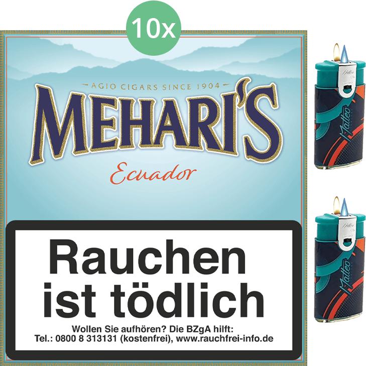 Mehari's Ecuador 10 x 20 Stück