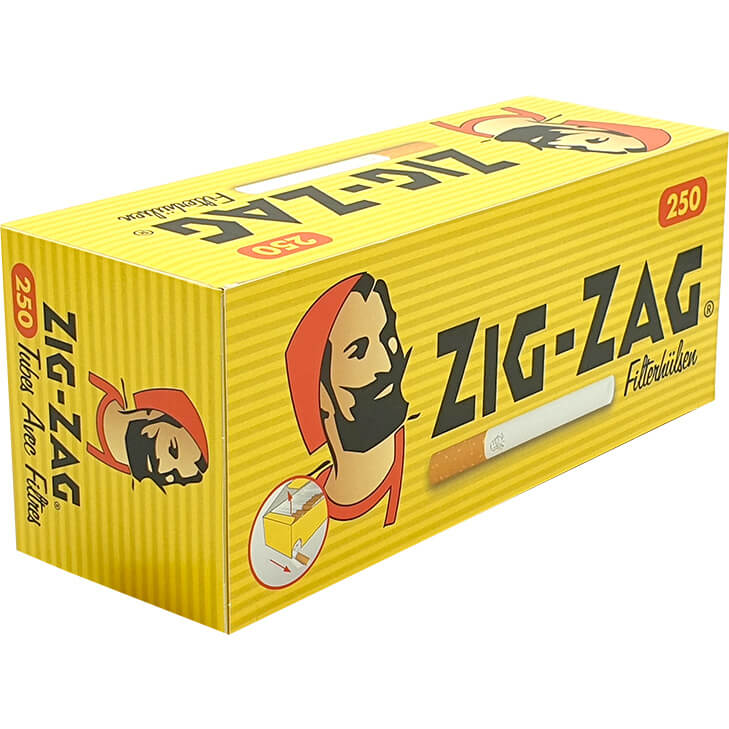 Zig Zag Filterhülsen 250
