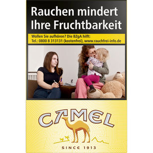Camel Yellow 7 €
