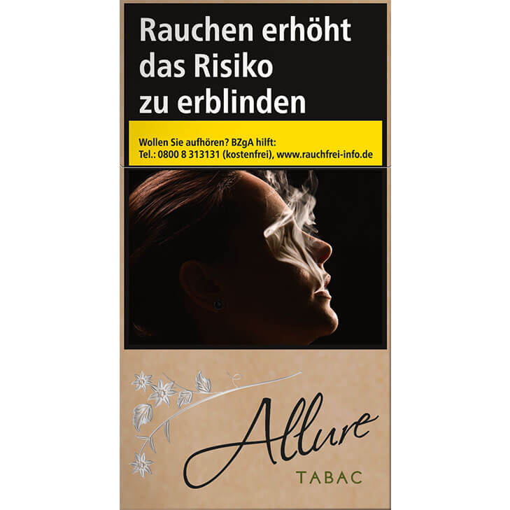 Allure Organic / Tabac 12 €