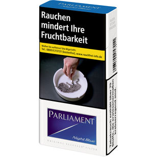 Parliament Night Blue 7,50 €