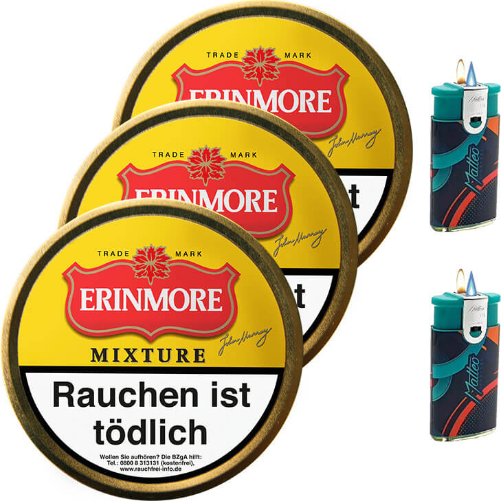 Erinmore Mixture 3 x 50g